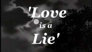 Love is Lie